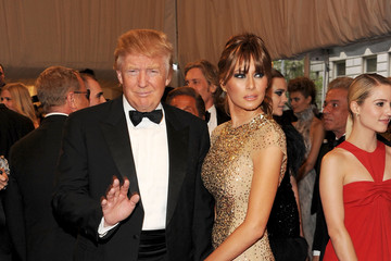 "Donald Trump ""Alexander McQueen: Savage Beauty"" Costume Institute Gala At The Metropolitan Museum Of Art - Arrivals"