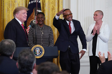 Donald Trump President Donald Trump Participates In Prison Reform Summit And First Step Act Celebration At The White House