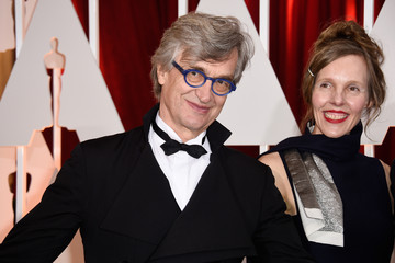 Donata Wenders Wim Wenders Arrivals at the 87th Annual Academy Awards — Part 3