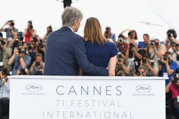 Donata Wenders Wim Wenders 'Pope Francis - A Man Of His Word' Photocall - The 71st Annual Cannes Film Festival