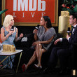Donatella Versace IMDb LIVE Presented By M&M'S At The Elton John AIDS Foundation Academy Awards Viewing Party
