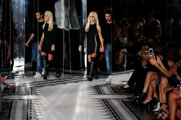 Donatella Versace Versus Versace - Runway - Mercedes-Benz Fashion Week Spring 2015
