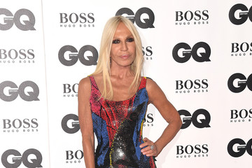 Donatella Versace GQ Men Of The Year Awards 2018 - Red Carpet Arrivals