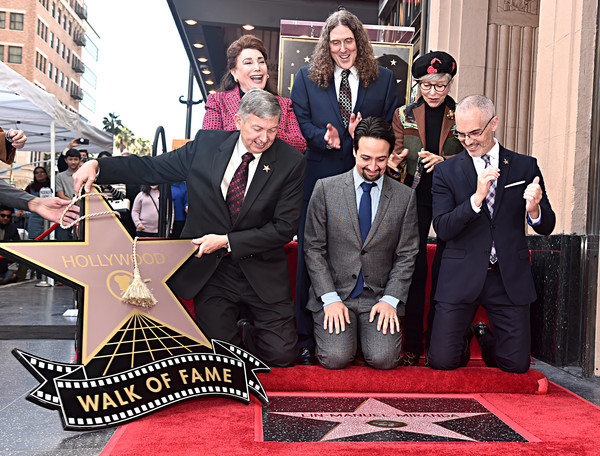 Lin-Manuel Miranda Is Honored With A Star On The Hollywood Walk Of Fame
