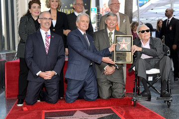 Donelle Dadigan Hollywood Walk Of Fame Ceremony Honoring Michael Douglas