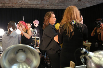 Donna Karan Donna Karan New York 30th Anniversary - Backstage - Mercedes-Benz Fashion Week Spring 2015