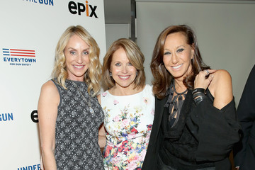 Donna Karan Under the Gun NY Premiere Event With Katie Couric & Stephanie Soechtig