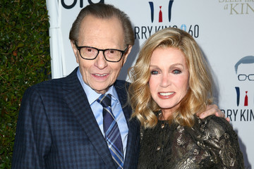 Donna Mills Larry King's 60th Broadcasting Anniversary Event - Arrivals