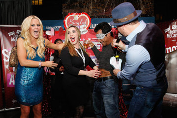 Donnie Wahlberg Danny Wood Jenny McCarthy Hosts 'Singled Out...Again' on SiriusXM Show