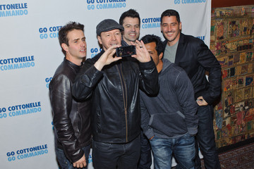 Donnie Wahlberg Danny Wood New Kids On The Block In Concert - New York, NY