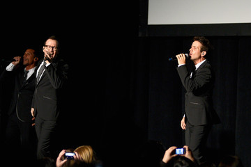 """Donnie Wahlberg Joey McIntyre New Kids On The Block """"10"""" Record Release Party"""