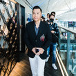 Donnie Yen American Express Celebrates the Opening of the Centurion Lounge at Hong Kong International Airport
