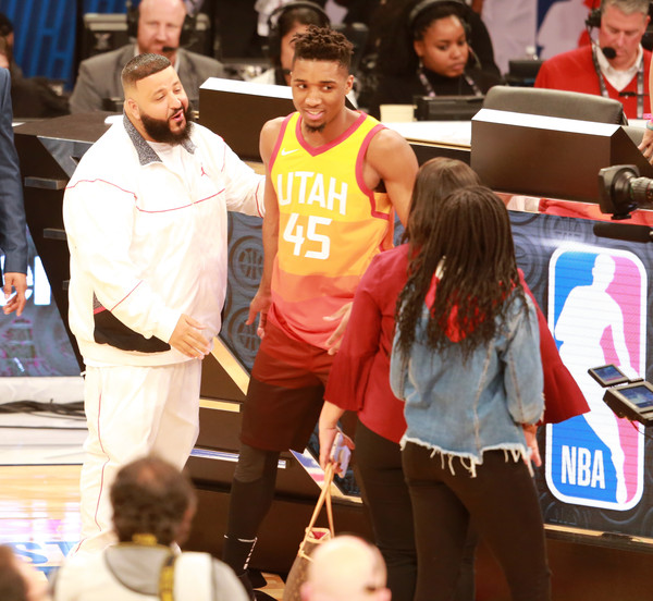 huge discount 6dbcc 4c89b Donovan Mitchell Photos Photos - Celebrities Attend the 2018 ...