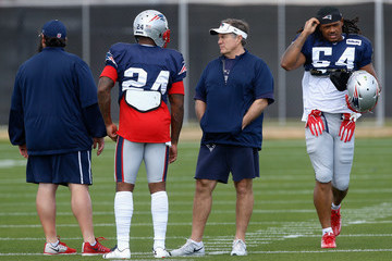 Dont'a Hightower New England Patriots Practice