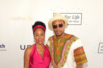 Dorian Missick Russell Simmons' Rush Philanthropic Arts Foundation Hosts the Midnight at the Oasis Annual Art for Life Benefit - Arrivals