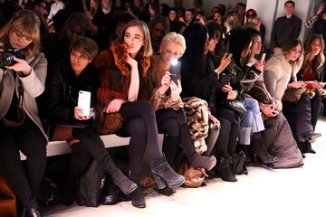 Dorinda Medley Nicole Miller - Front Row - February 2017 - New York Fashion Week: The Shows
