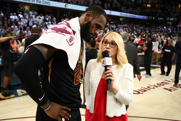 Doris Burke Boston Celtics Vs. Cleveland Cavaliers - Game Six
