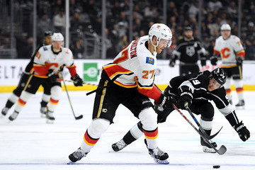 Dougie Hamilton Calgary Flames v Los Angeles Kings