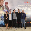 """Douglas Attal Premiere Of The Movie """"How Did I Become A Super Hero"""" At Cour Carre Du Louvre"""