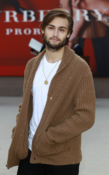 Douglas Booth 2013 Arrivals - LFW FW 2013