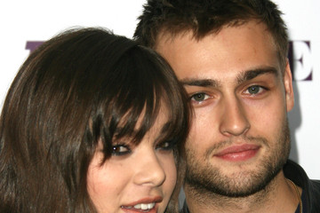 Douglas Booth Hailee Steinfeld Arrivals at the Teen Vogue Young Hollywood Party