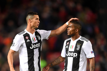 Douglas Costa Manchester United vs. Juventus - UEFA Champions League Group H