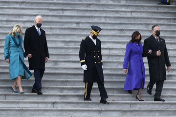 Douglas Emhoff Joe Biden Marks His Inauguration With Full Day Of Events