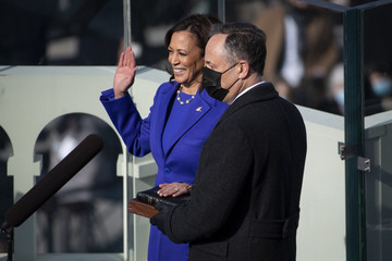 Douglas Emhoff Joe Biden Sworn In As 46th President Of The United States At U.S. Capitol Inauguration Ceremony