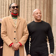 Dr. Dre Snoop Dogg Honored With Star On The Hollywood Walk Of Fame