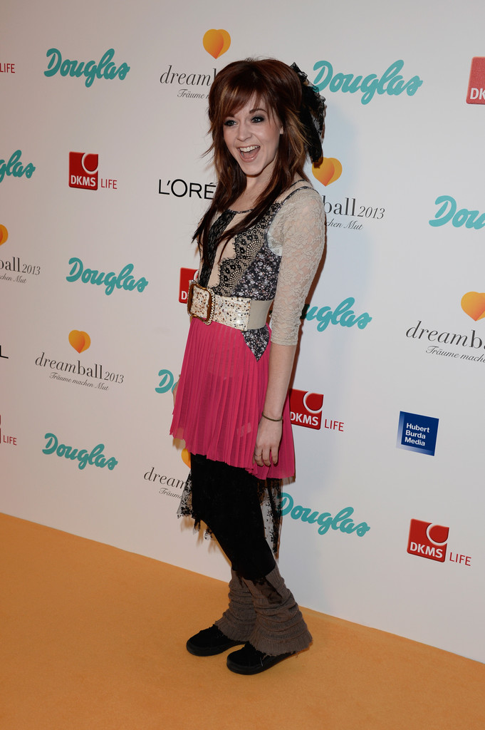 Lindsey Stirling Pictures Arrivals at the 2013 Dreamball -