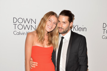 Dree Hemingway Phil Winser MBFW: Calvin Klein Collection Post Show Event