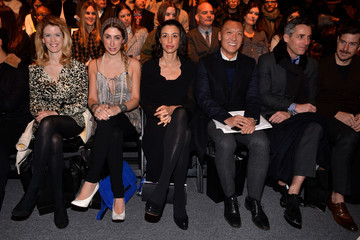 Drena De Niro Nicholas K - Front Row - Fall 2013 Mercedes-Benz Fashion Week