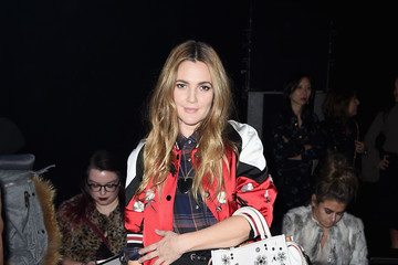 Drew Barrymore Coach 75th Anniversary: Women's Pre-Fall and Men's Fall Show - Front Row