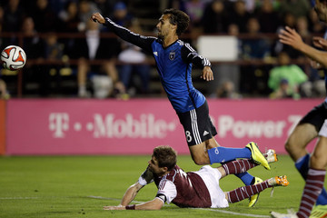 Drew Moor Colorado Rapids v San Jose Earthquakes