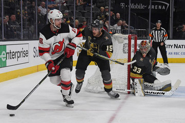 Drew Stafford New Jersey Devils vs. Vegas Golden Knights