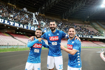 Dries Mertens SSC Napoli vs. US Sassuolo - Serie A