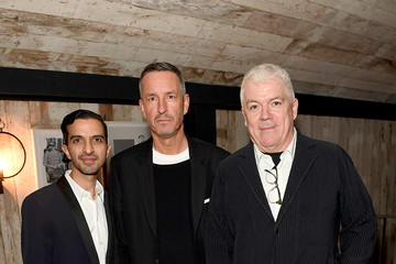 Dries Van Noten Imran Amed The Business of Fashion Presents VOICES - Welcome Dinner