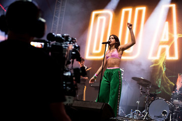 Dua Lipa Glastonbury Festival 2017 - Day 2