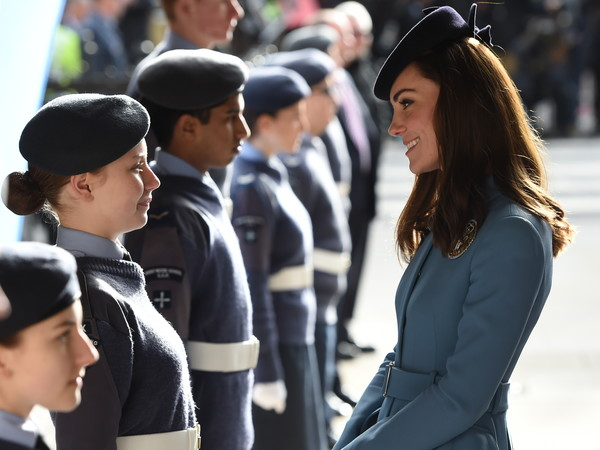 Duchess of Cambridge Marks 75th Anniversary of RAF Air Cadets