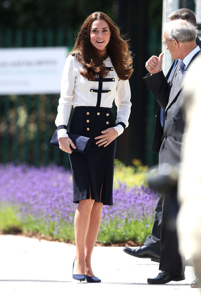 Catherine, Duchess of Cambridge during an official visit to Bletchley Park on June 18, 2014 in Bletchley, England.