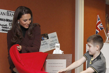 Ethan Harris The Duchess Of Cambridge Visits Liverpool