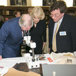 Duchess of Cornwal The Prince of Wales & Duchess of Cornwall Attend the Friends of the National Libraries Reception
