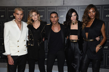 Dudley O'Shaughnessy BALMAIN X H&M Collection Launch - Arrivals