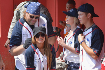James Otto In The Dugout At City Of Hope's 2012 Celebrity Softball Challenge