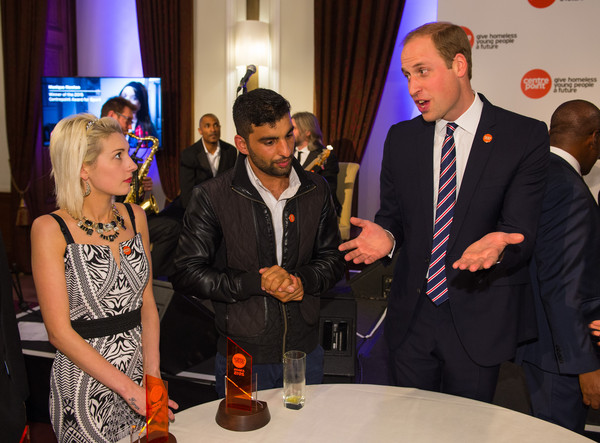 The Duke of Cambridge Attends The Centrepoint Awards