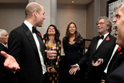 Prince William, Duke of Cambridge and Eric Clapton attend the London's Air Ambulance Charity gala at Rosewood London on November 07, 2019 in London, England. Prince William is Patron of London's Air Ambulance Charity's 30th Anniversary Campaign.