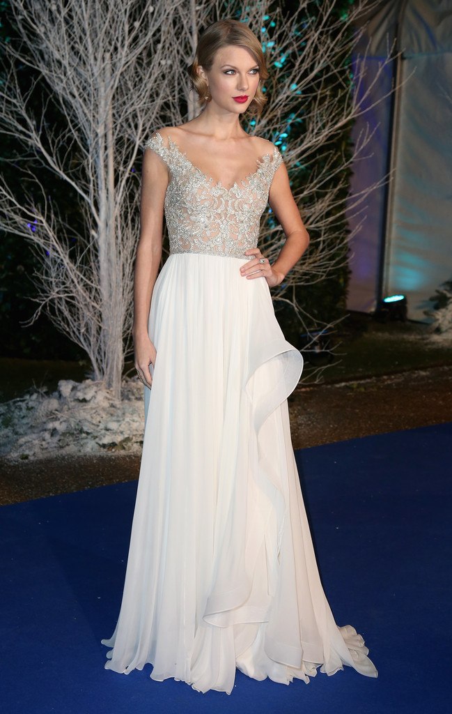 Arrivals at the Winter Whites Gala in London
