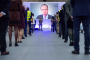 A general view of the interior prior to Prince William, Duke of Cambridge opening the new NHS Nightingale Hospital via video link on April 16, 2020 in Birmingham, England. The Coronavirus (COVID-19) pandemic has spread to many countries across the world, claiming over 130,000 lives and infecting over 2 million people.