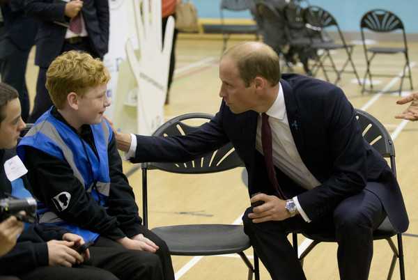 Duke of Cambridge Visits the Diana Award Anti-Bullying Campaign
