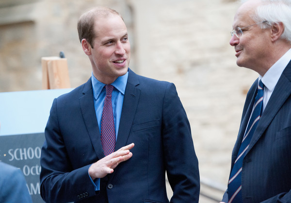 The Duke of Cambridge Visits St John's College Cambridge